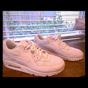 Nike Air Max All white: Size 12
